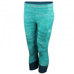 legginsy damskie 3/4 ADIDAS TECHFIT CAPRI PRINTED HEATHER AJ2269