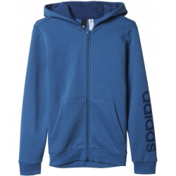 Adidas Bluza Essentials Linear Full Zip Hoodie Junior BP8746